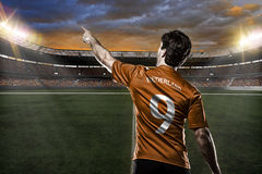 Footballeur de Néerlandais photos stock