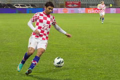 Footballeur - Eduardo da Silva Photo stock