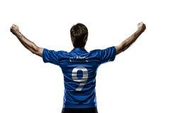Footballeur français photographie stock