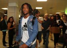 Footballeur, industries du football - Renato Sanches Image stock