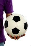 Footballeur sur la zone Image libre de droits
