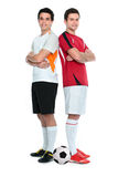 Footballeurs Images stock
