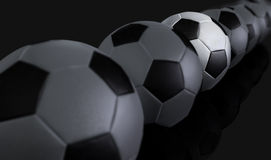 Footballs Stock Photo