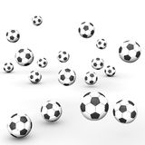 Footballs Royalty Free Stock Image