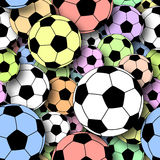 Footballs Royalty Free Stock Photo