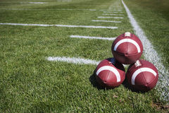 Footballs Stock Images