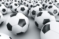Footballs Stock Photos