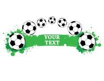 Footballs Royalty Free Stock Image
