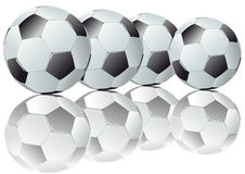 Footballs Stock Photography