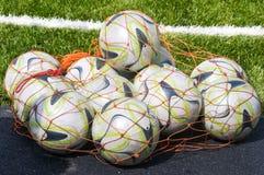 Footballs. Royalty Free Stock Photos