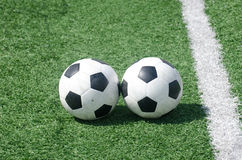 Footballs soccer Stock Images