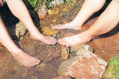 Footbath Royalty Free Stock Photos