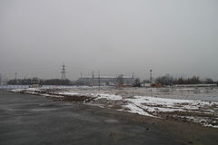Footbol stadium russia Royalty Free Stock Photography