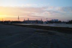 Footbol stadium russia Royalty Free Stock Photo