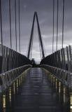 Footbridge над шоссе 85 Стоковая Фотография RF