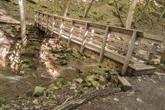 Footbridge склонности Стоковые Фотографии RF