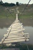 footbridge старый Стоковая Фотография RF