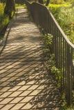 footbridge fotos de stock