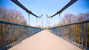 footbridge Obraz Stock