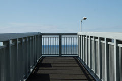 Footbridge. Royalty Free Stock Photo