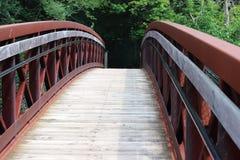 Footbridge стоковое изображение rf