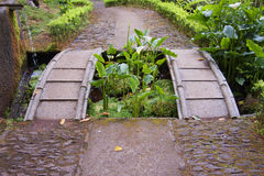 footbridge foto de stock