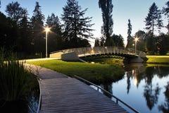 footbridge Imagem de Stock