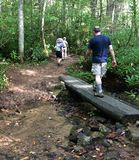 footbridge Imagem de Stock Royalty Free