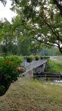 footbridge стоковая фотография rf