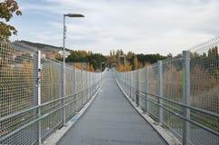 Footbridge in Cuenca Stock Photography