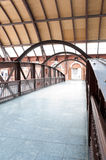 Footbridge in the light station - Sao Paulo Royalty Free Stock Photography