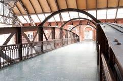 Footbridge in the light station - Sao Paulo Royalty Free Stock Photos