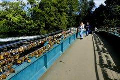 Footbridge Lovelock Стоковое Изображение RF