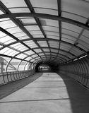 Footbridge at MCG - B&W Royalty Free Stock Images