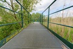 Footbridge Stock Photo