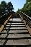 Footbridge Stock Image