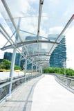 footbridge nowożytny fotografia royalty free