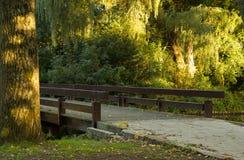 Footbridge Royalty Free Stock Images