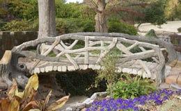 Footbridge outside the Crystal Shrine Grotto Royalty Free Stock Image