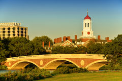 Footbridge Over The Charles Stock Photography