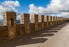 Footbridge Over The Walls Stock Image