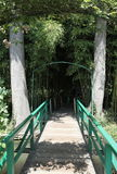 Footbridge, perspective Stock Images