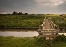 Footbridge. Stock Images
