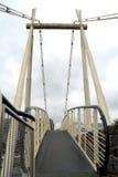 Footbridge in Southampton in England Royalty Free Stock Photos