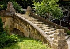 footbridge stary Zdjęcia Stock