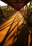 Footbridge sunrise D Royalty Free Stock Photos