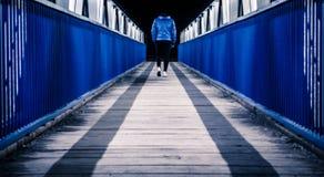 Footbridge to nowhere Stock Photos