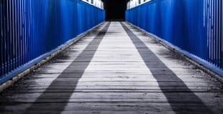 Footbridge to nowhere Royalty Free Stock Photography