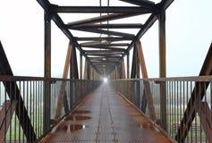 footbridge widok Zdjęcia Royalty Free