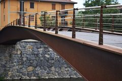 Footbridges рек Стоковая Фотография RF